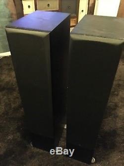 Monitor Audio Bronze Br6 Floorstanding Speakers Black