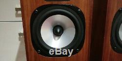 Monitor Audio Floorstanding Rosewood Speakers Pair Studio 12 Exc Condition