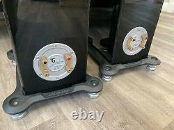 Monitor Audio GS60 Gloss Black Floor standing Hi-Fi Cinema Speakers Boxed