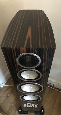 Monitor Audio Gold GX300 Floorstanding Speakers Piano Ebony