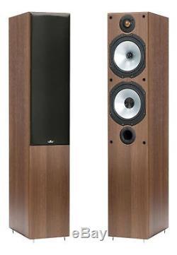 Monitor Audio MR4 Walnut Floorstanding Speakers (Pair)