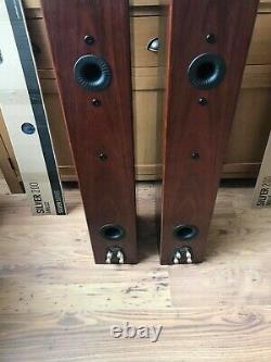 Monitor Audio Silver 200 Floorstanding Speakers Walnut Ex Display Never Used