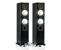 Monitor Audio Silver 6 Black Oak Floorstanding Speaker (Pair)