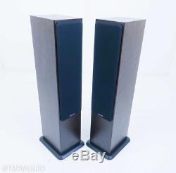 Monitor Audio Silver 6 Floorstanding Speakers Walnut Pair