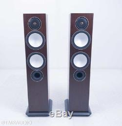 Monitor Audio Silver 6 Floorstanding Speakers Walnut Pair (2/2)