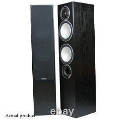 Monitor Audio Silver 6 Speakers Black Pair Floorstanding Towers Boxed
