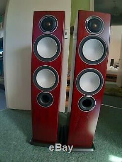 Monitor Audio Silver 6 in Rosenut, Floorstanding Speakers, VGC