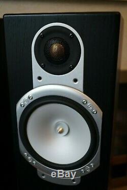 Monitor Audio Silver RS8 Main / Stereo Floorstanding Speakers Black Ash