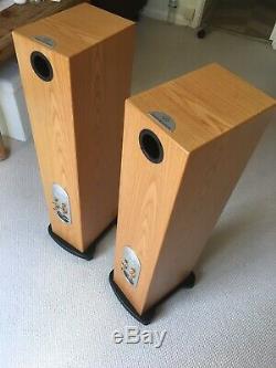 Monitor Audio Silver RS-8 Floorstanding Speakers Oak Veneer Excellent Condition