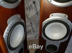 Monitor Audio Silver RS-8 Floorstanding Speakers Walnut VGC