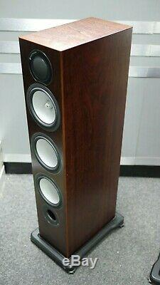 Monitor Audio Silver RX8 Floorstanding Speakers in Walnut Preowned