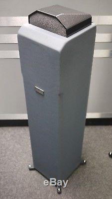 Monopulse Model A Floorstanding Speakers in Slate Grey Preonwed