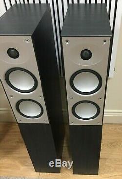 Mordaunt Short Avant 908i Floor Standing Speaker Pair Black DNG-552