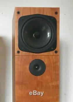 Naim INTRO 2 Floor Standing Speakers in Cherry Veneer Superb Sound