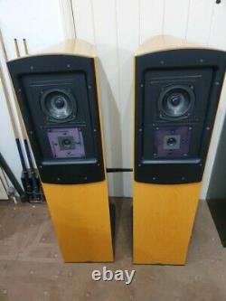 Naim NBL Floorstanding Loudspeakers in Beech, Vintage