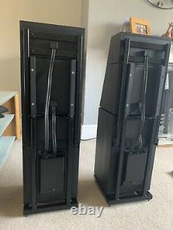 Naim SBL Floorstanding Speakers In Black Ash