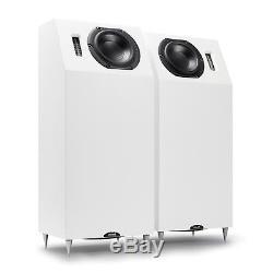 Neat Iota Alpha Floor-Standing Speakers Loudspeakers in Satin White
