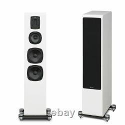 New. Quad S4 Hybrid 3 way ABR Floorstanding Speakers in black SAVE £400