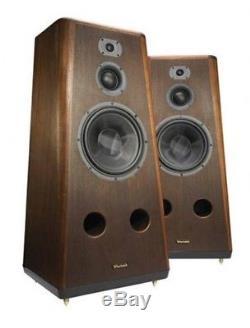 New Wharfedale Airedale Neo Premium Floorstanding Speakers Walnut