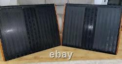PAIR BLACK Quad ESL57 Electrostatic Speakers ESL Loudspeakers Floorstanding Hifi