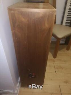PAIR KEF REFERENCE 104/2 Speaker in Black Loudspeakers Floorstanding