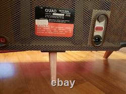 PAIR QUAD ESL57 Electrostatic Speakers Floorstanding+ QUAD Amplifier&Tuner