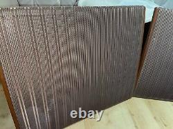 PAIR of Quad ESL57 Speakers Electrostatic ESL Gold Loudspeakers Floorstanding