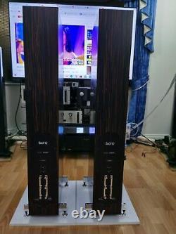PMC Fact 12 Floorstanding Speakers Tiger Ebony