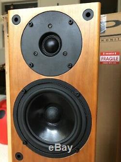 PMC GB1 ATL Floorstanding Speakers For Stereo/Home Cinema Cherry Veneer BOXED