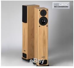 PMC GB1i Floorstanding Speakers in Oak Veneer. 5 Star Award Winners Boxed