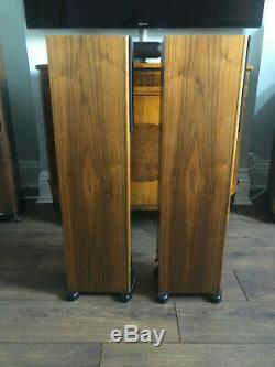 PMC GB1i floorstanding speakers in walnut finish excellent condition