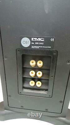 PMC OB1 floorstanding speakers boxed