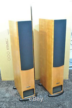PMC PB1i Floor Standing Speakers. Cherry Finish. VGC with boxes. Fully Working