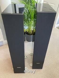 PMC Twenty5 26 Floorstanding Speakers in Gloss Black Boxed Warranty