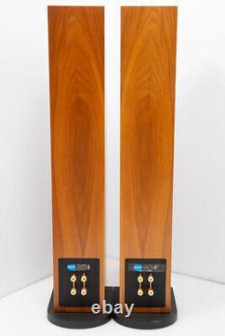 PMC Twenty 23 floorstanding speakers in walnut, with boxes