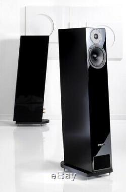 PMC Twenty 24 Floorstanding Speakers In Diamond Black Brand New Save £1015