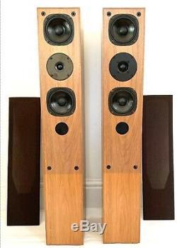 PROAC Teak Floor Standing Tower Speakers & Nearly New Tweeter Made In England