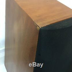 Pair (2) Sony SS-M3 Floorstanding Speakers Cherry Refoamed