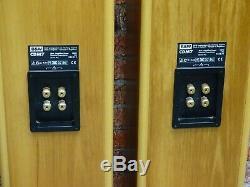 Pair Bowers & Wilkins B&W CDM 7 Stereo System Use Floorstanding Loud Speakers