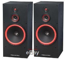 Pair Cerwin Vega SL-15 15 3 Way Floor Standing Tower Speakers 400 Watt New SL15