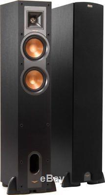 Pair Floor Standing Speakers Klipsch R-24f R24 F Brand New Warranty Special Sale