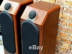 Pair Of B&W Bowers & Wilkins CDM 7 Bi-Wire Floor Standing Loud Speakers