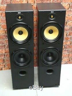Pair Of Bowers & Wilkins B&W DM603 Series 1 Bi-Wire Floor Standing Loud Speakers