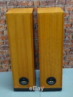 Pair Of Dynaudio Audience 15 Floor Standing Loud Speakers with Spikes