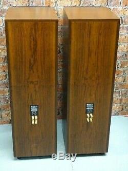 Pair Of KEF 104/2 Reference Series Heavy Weight Floor Standing Loud Speakers