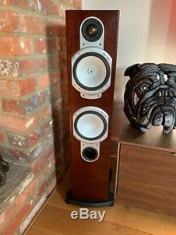 Pair Of Monitor Audio Silver RS6 Hi Fi Separate Use Floor Standing Loud Speakers