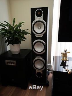 Pair Of Monitor Audio Silver RS-8 Bi-Wire Floor Standing Loud Speakers