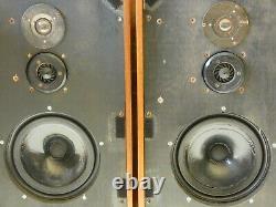 Pair Of Spendor BC1 Vintage Bookshelf Or Floorstanding Use Loudspeakers