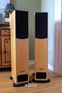 Pmc Fb1 Floor Standing Speakers Oak Pair Excellent Condition