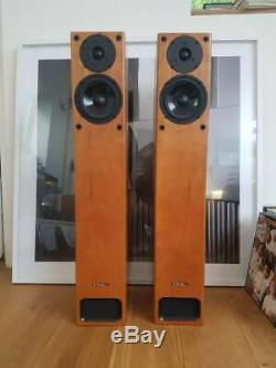 Pmc Gb1 Floor Standing Speakers Arcam Audiophile Cherry Wood Still With Boxes
